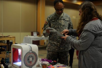 The 2015 Military Maker Festival, 80th Training in Command
