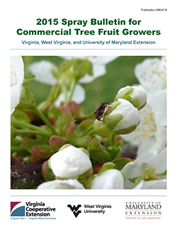Spray Bulletin for Commercial Tree Fruit Growers