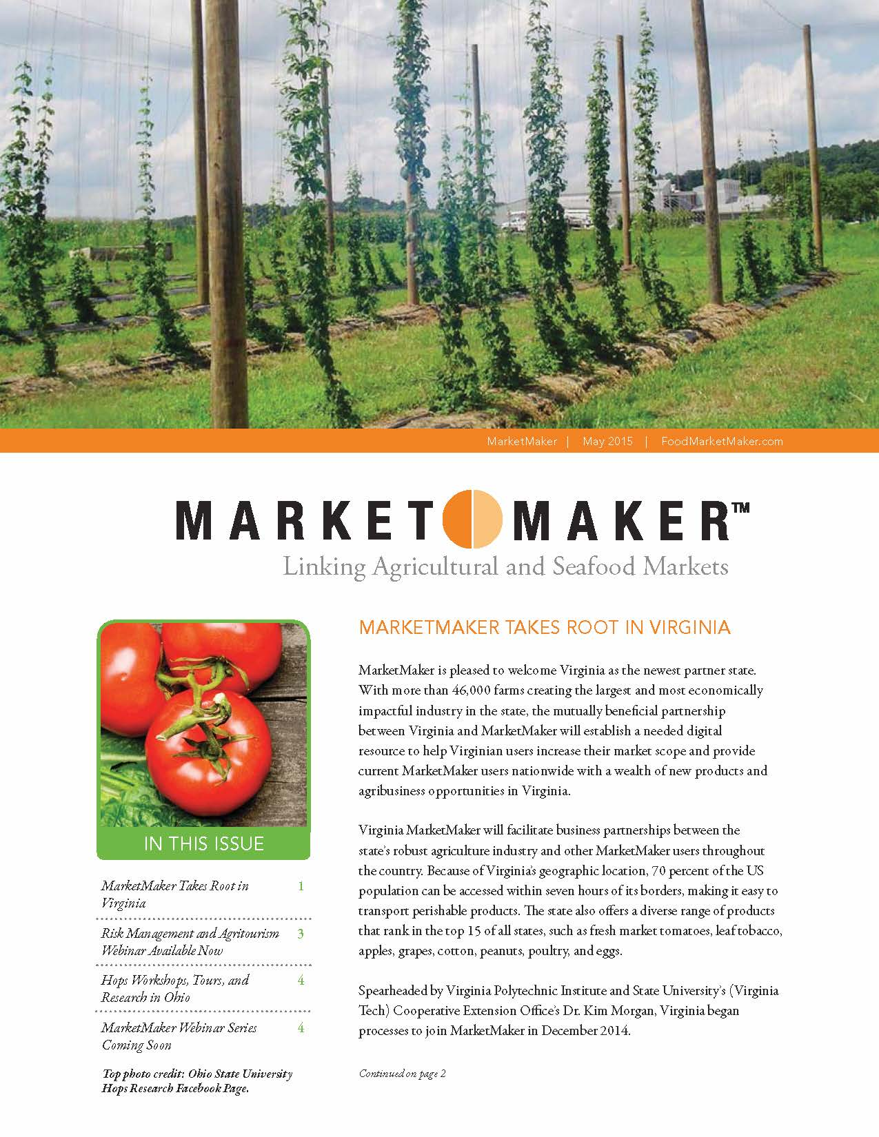 Market Maker Newsletter