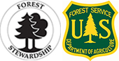 Forest Stewardship and Forest Service Logos