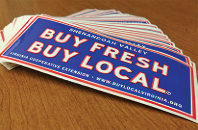 Buy Fresh Buy Local bumper sticker