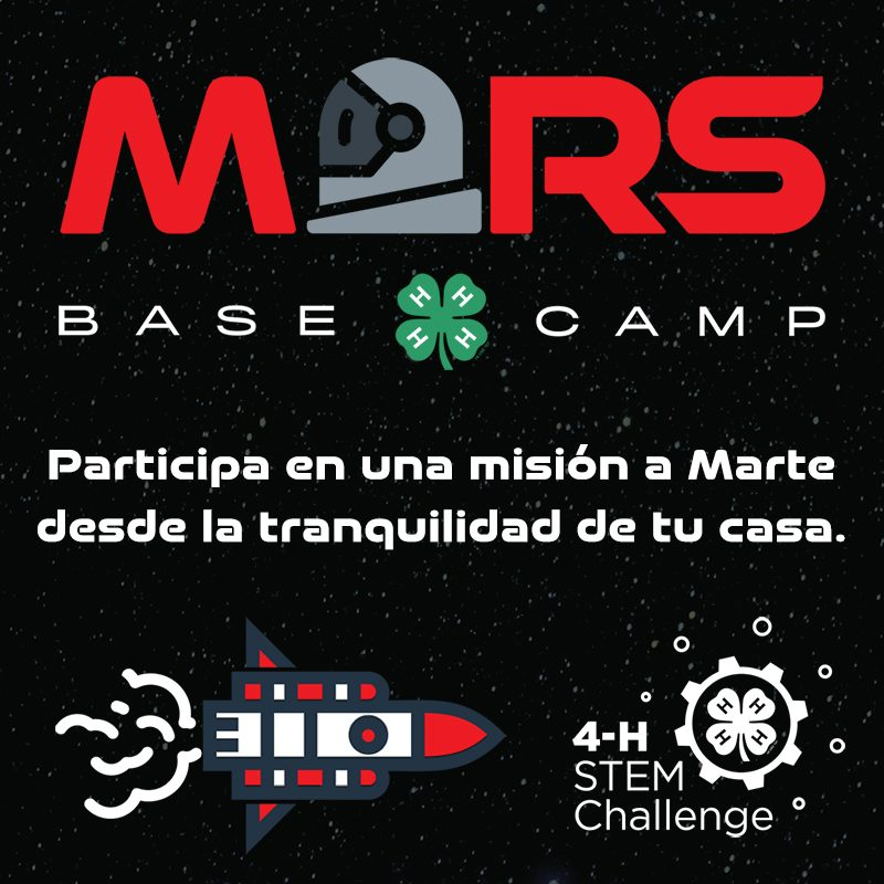 Mars Base Camp: Explore a hand-on mission to Mars at home, in Spanish