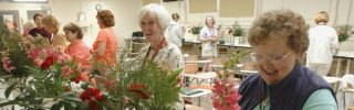 Master Gardeners at a workshop